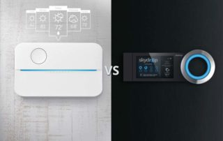 Rachio Vs. Skydrop smart sprinkler controller