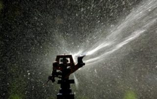 large yard sprinkler